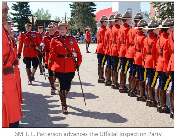 RCMP Firsts: SM Patterson