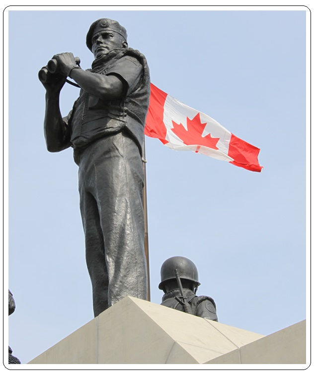 Why is Canada considered a peacekeeping nation?